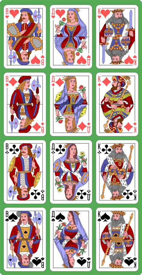 Who Designed The Card - file russian card deck cards designed by