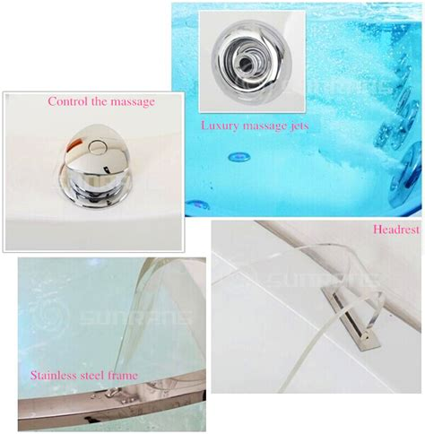 glass bathtub for sale 2015 hot sale plastic bathtub for adult combo massage air