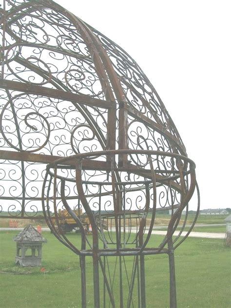 wrought iron gazebo wrought iron jester arbor gazebo garden arch