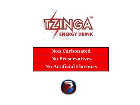 tzinga energy drink tzinga energy drink with a taste
