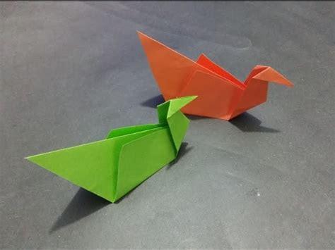 Easy Bird Origami For - simple bird origami tutorial for