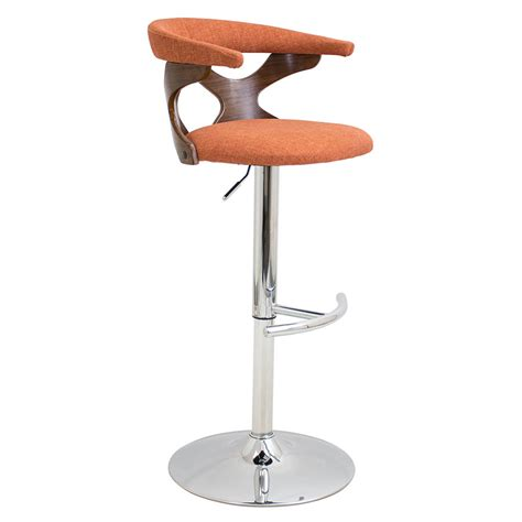 Stool Is Orange by Modern Stools Gad Orange Adjustable Stool Eurway