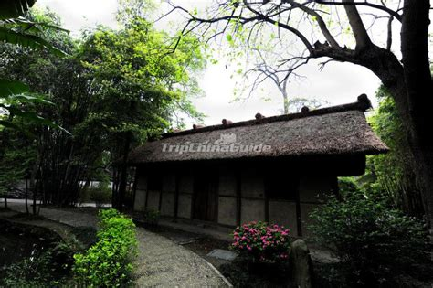 Du Fu Thatched Cottage by Du Fu Thatched Cottage Architecture Sichuan Chengdu Du