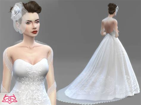 Wedding Dress The Sims 4 by Sims 4 Wedding Cc