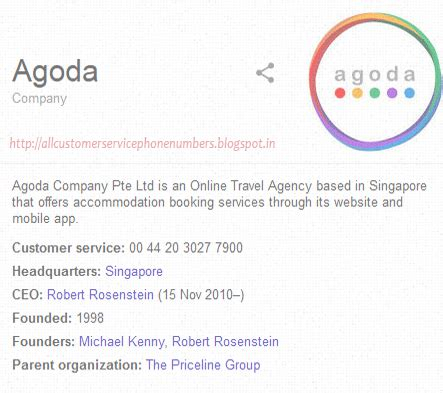 agoda contact agoda thailand customer service phone number service