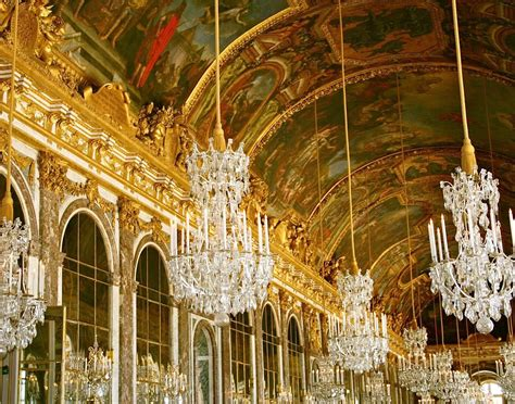 Versailles Chandelier | french decor versailles chandelier photograph hall by vitanostra