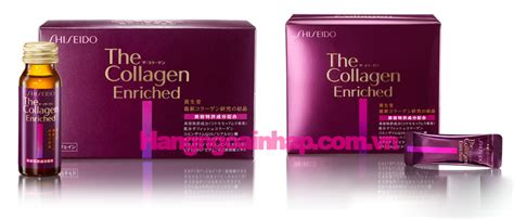 The Collagen Enriched Shiseido uống collagen n 224 o tốt nhất 3 loại collagen ch 237 nh dhp