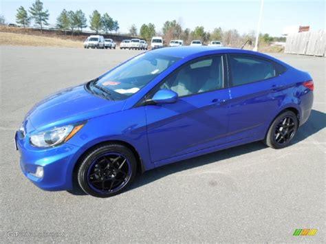 Blue Hyundai Accent by 2012 Marathon Blue Hyundai Accent Gls 4 Door 61580697