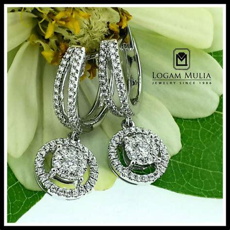 Berlian Medan Anting Padi Padi jual anting berlian wanita ara e602760 sdsn logammuliajewelry
