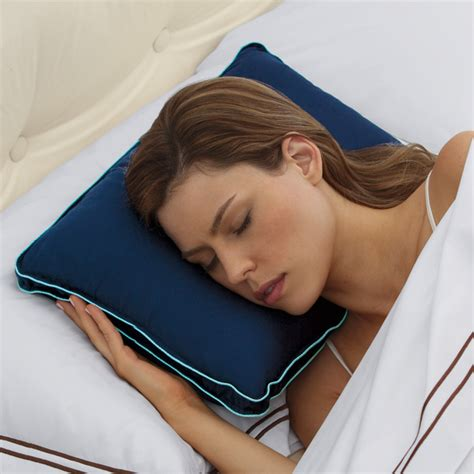 biosense travel pillow at brookstone buy now