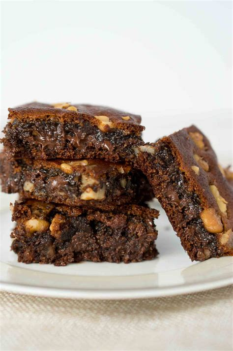 Brownies Almond almond extract brownies