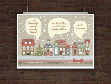 Weihnachtskarten Drucken Online Kostenlos by Drucke Selbst Kostenlose Weihnachtskarte Zum Ausdrucken