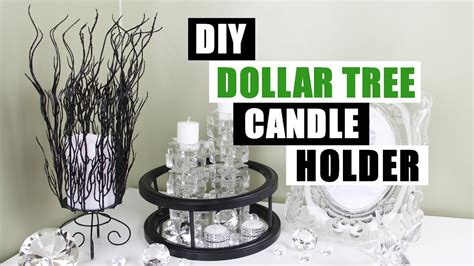 dollar tree home decor diy dollar tree candle holder diy home decor youtube
