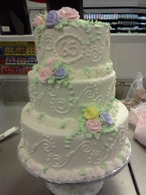 65th wedding anniversary cakecentral