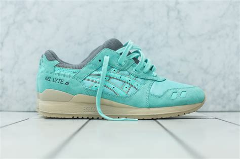 Asics Gel Lyte Iii Snowflake Premium Quality kith just dropped an exclusive quot cockatoo green quot asics gel lyte iii hypebeast
