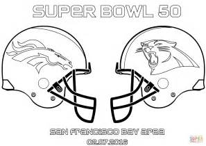 broncos coloring sheets bowl 50 carolina panthers vs denver broncos