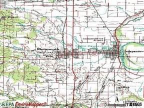 monmouth oregon map monmouth oregon