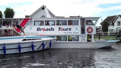 crash boat cafe boat crash at wroxham on the norfolk broads youtube