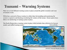 PPT - Tsunami – Water's Revenge PowerPoint Presentation ... Warning Systems