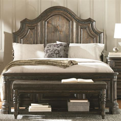 king bedroom furniture sets sale bedroom furniture high carlsbad dark brown king panel bed from coaster 204041ke
