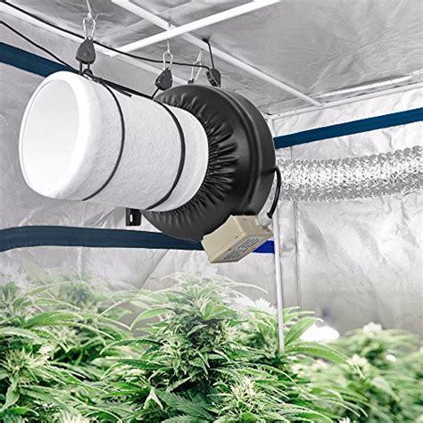 intake fan for grow tent amagabeli 4 inch inline duct fan 220 cfm for hydroponics