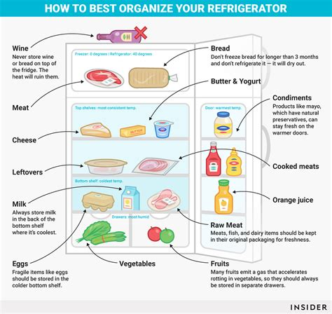 the best way to organize a lifetime of photos how to organize your refrigerator insider