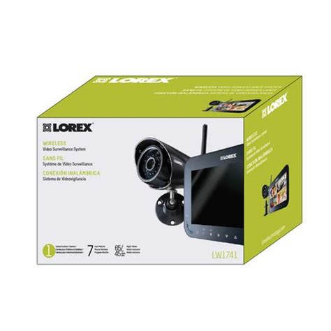 lorex by flir 7 quot wireless surveillance system 1