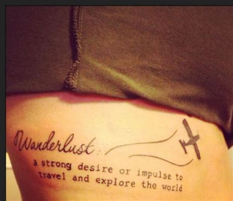tattoo quotes for travel rib tattoo travel world quote lettering fav images