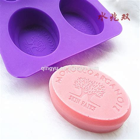 Cake Soap Mold Silicone diy handmade soap moulds silicone cake mold oval shape