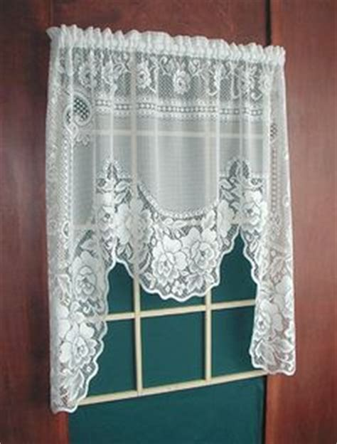 white lace swag curtains curtains on pinterest swag curtains lace curtains and