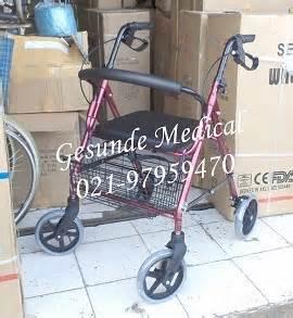 Kursi Belajar Beroda alat bantu jalan rollator fs 965lh toko medis jual alat kesehatan