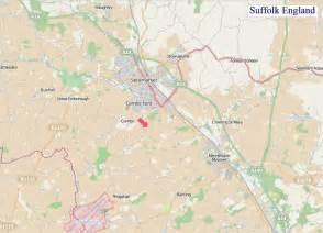 Suffolk England Map by A Map Of Suffolk England Suffolk Uk Map