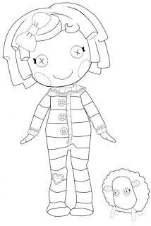 lalaloopsy coloring pages nick jr 190 best images about lalaloopsy on pinterest free
