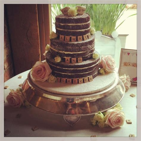 scrabble wedding cake no matter the cost the wedding stripped bare