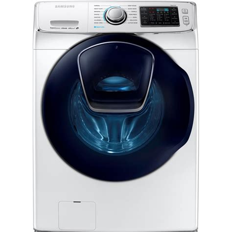 front door washer samsung 4 5 cu ft high efficiency front load washer with