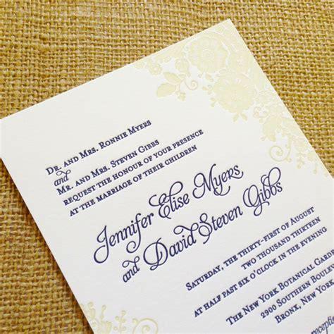 letterpress wedding invitations affordable uk affordable letterpress wedding invitations