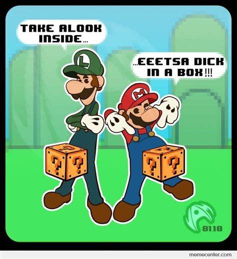 Luigi Meme - mario and luigi by ben meme center