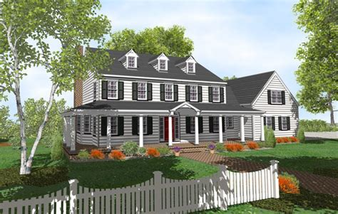 Colonial House Plans With Porch by Early Structures Typically Consist Of Facts