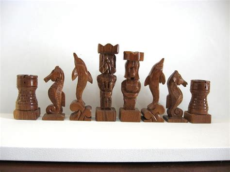 custom chess sets atlantis chess set etsy handmade chess sets chess tables chess