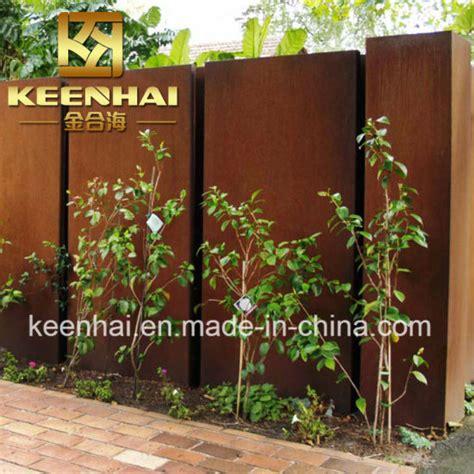 corten garden screens price china corten steel decorative metal outdoor screens