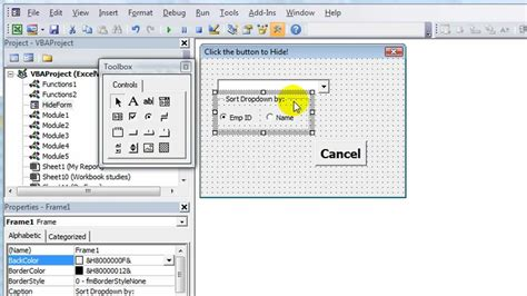 userform combobox images view tutorial excel vba excel vba userform combobox populate excel vba time