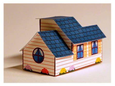 membuat kolase yang mudah gambar cara membuat rumah rumahan dari kardus yang mudah