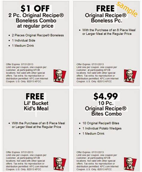 kfc new year promotion 2015 new kfc coupon codes coupons promos 2