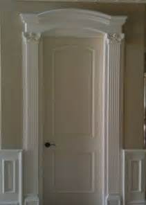 Frame Bathroom Mirror With Moulding - adding crown molding over door frame