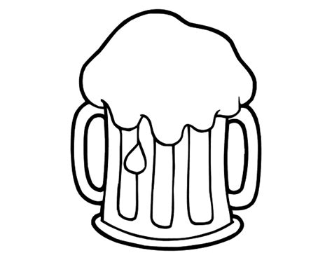 cold beer coloring page coloringcrew com