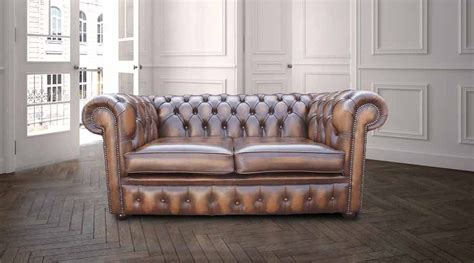 tan leather chesterfield sofa designersofas4u antique tan leather chesterfield sofa