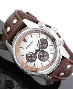 Jam Fossil Ch2565 jual fossil ch2565 coachman chronograph brown leather