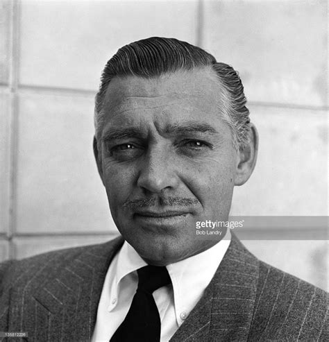 clark gable headshot portrait of american actor clark gable 1901