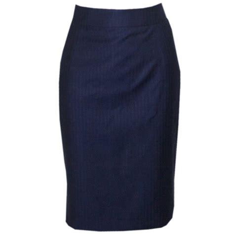 womens skirt womens blue herringbone skirt gresham