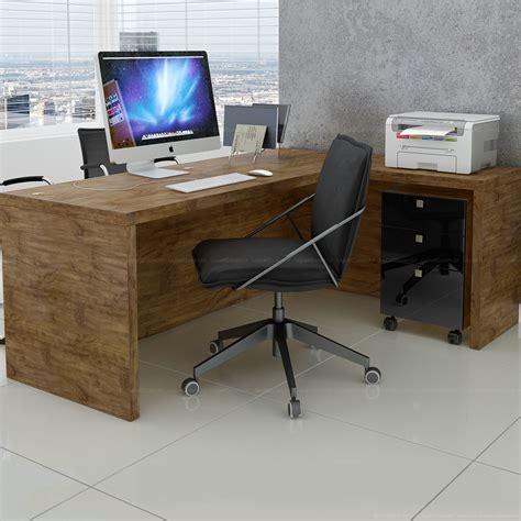 mesas para escritorio escrivaninha mesa para escrit 243 3 gavetas 100 mdf